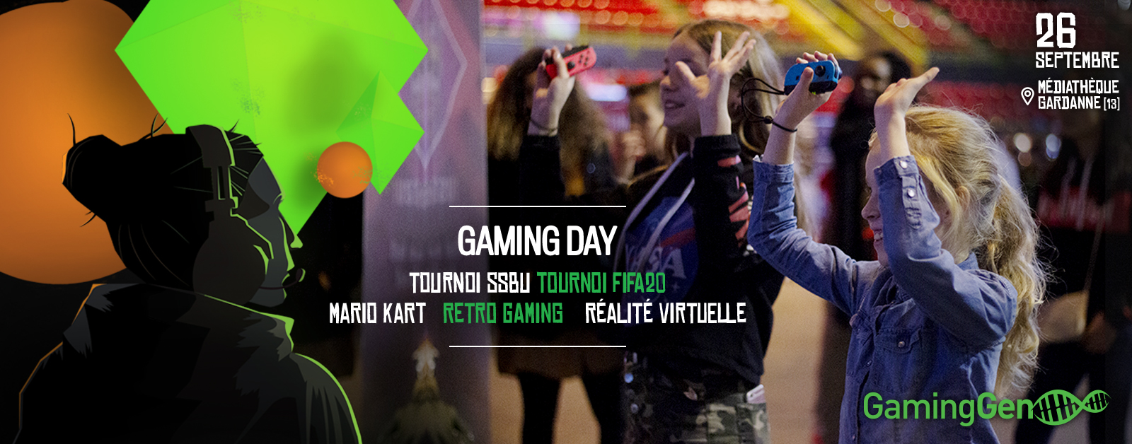 Gaming Day, 26 septembre à Gardanne
